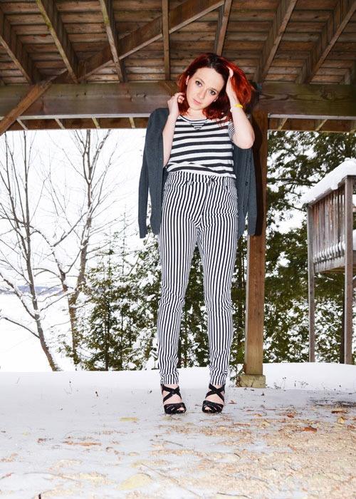 How to wear stripes Barbara Ann Solomon