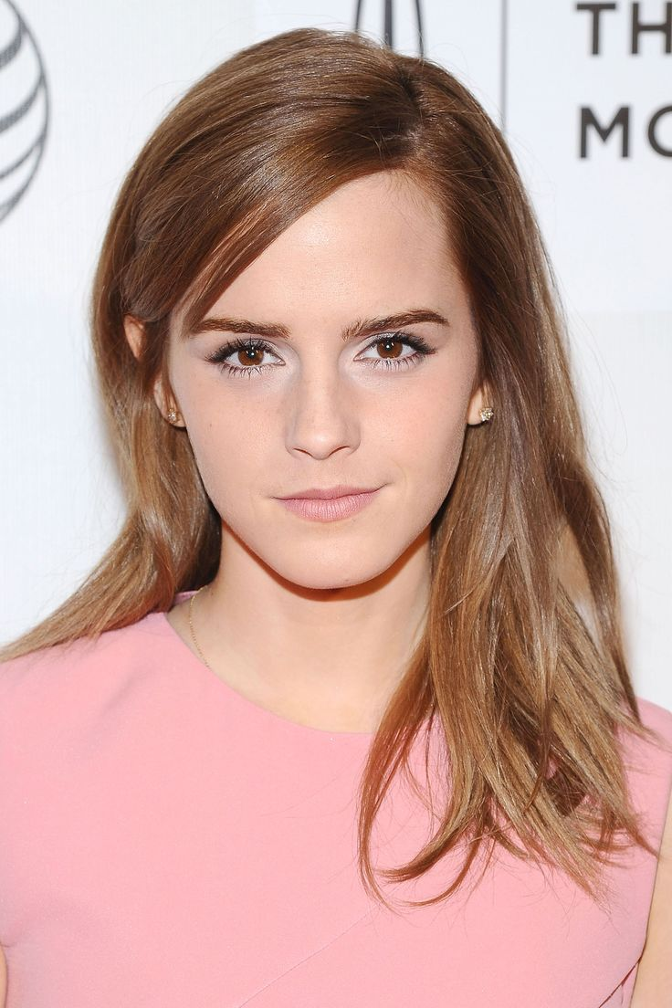 The 12 Best Haircuts for Summer 2014 - Emma Watson's One-Length Layers