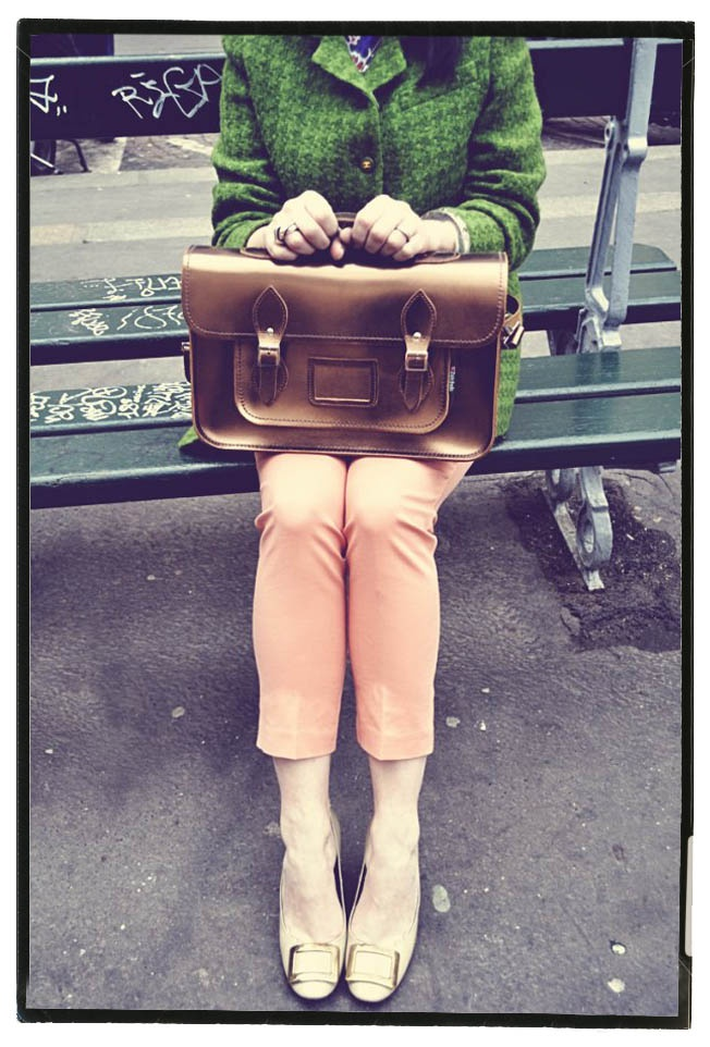 Gorgeous Zatchels bag in bronze - by The very Best of British #Zatchels - I am delighted to be the Creative Director!!! x