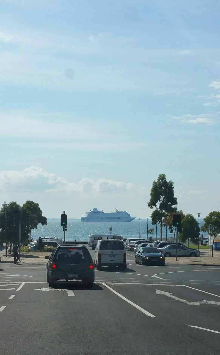 Always such a nice way to drive home. Corio Bay