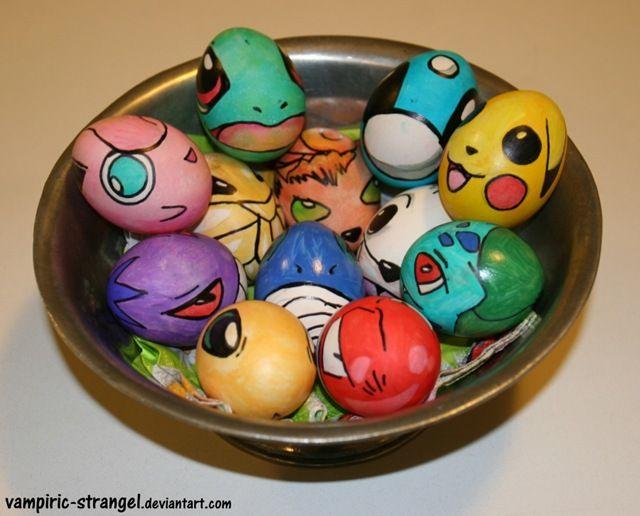 Pokémon Easter Eggs