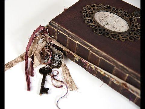GDT for ARTYmaze lady rose Vintage Journal #vintagejournals - YouTube