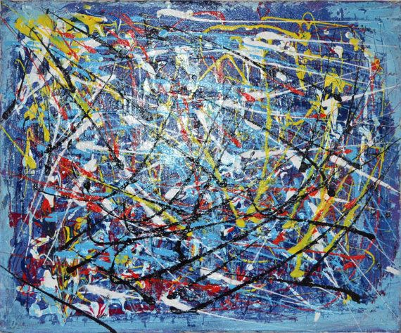 Becker's best no. 112 abstract painting by EchteBeckerArtworks