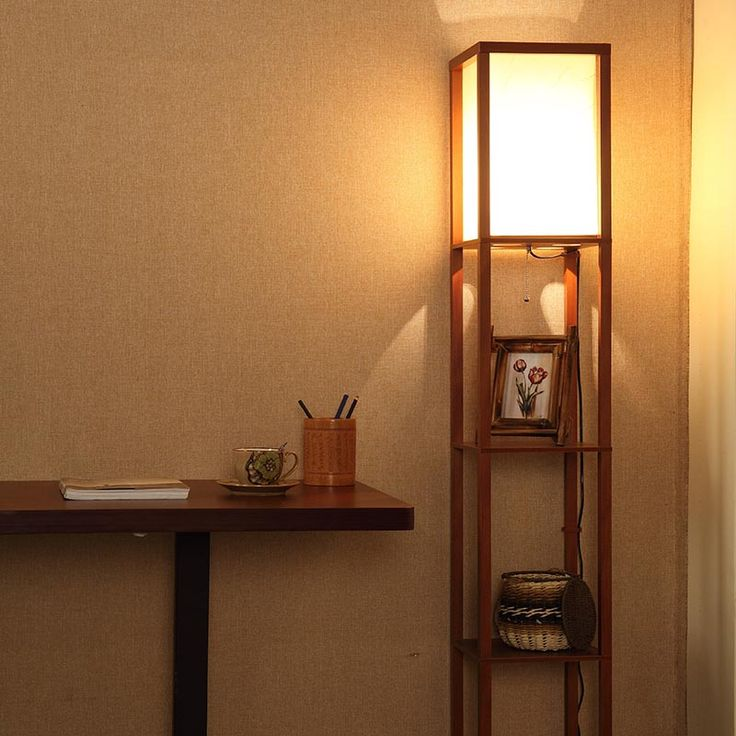 1000 ideas about floor lamp with shelves on pinterest for Floor lamp with shelves