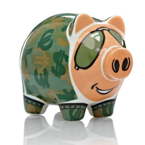 Ritzenhoff Mini Piggy Bank - Potts 2013