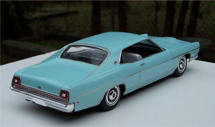 AMT 1969 Ford Galaxie | Car & Truck Scale Models ...