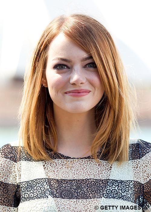 Cheveux: les stars craquent pour le carré mi-long (Emma Stone) | Elle Québec