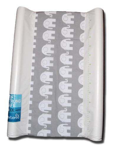 pokrowiec bawełniany uniwersalny z gumką na przewijak - Słoń/changing mat cover