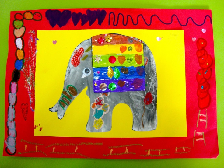 Decorated Indian Elephant for Diwali Crafts
