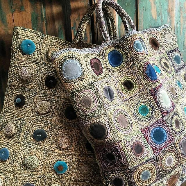 Sophie Digard crochet bags