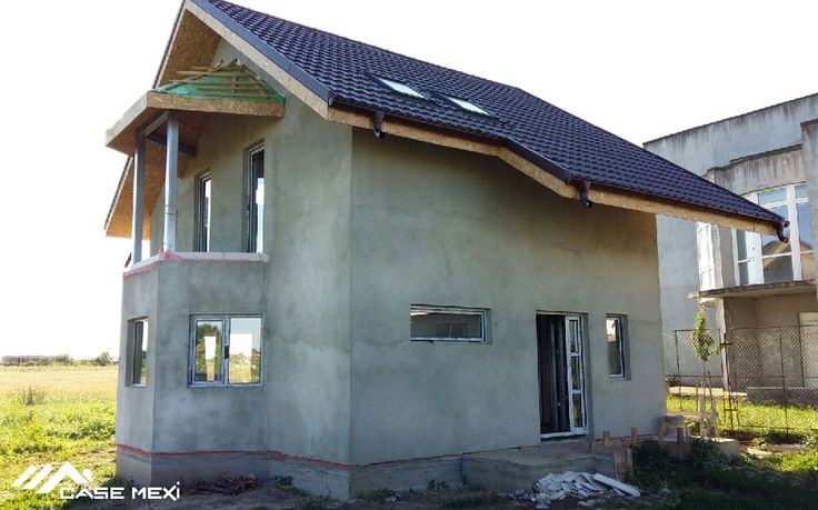 Modern House, built on Light Steel Structure