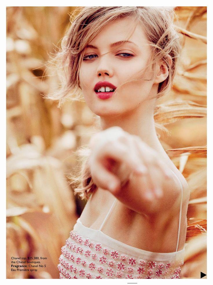 #LindseyWixson by #WillDavidson for #VogueAustralia December 2014
