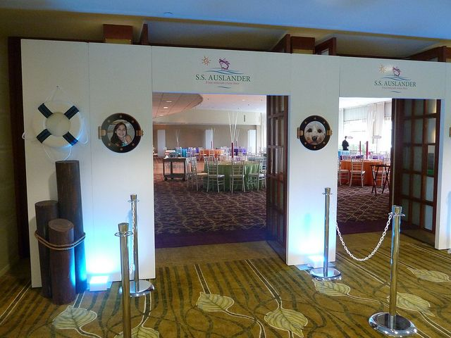 porthole entrance Cruise ship theme B'nai Mitzvah by The Prop Factory, via Flickr
