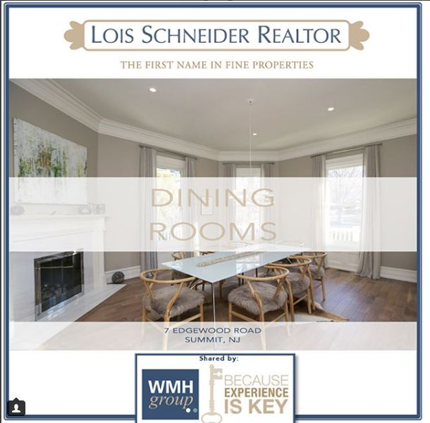 The WMH Group at Lois Schneider Realtor - Instagram Recap July 2017, The WMH Group at Lois Schneider Realtor, 431 Springfield Avenue, Summit, NJ, Office: 908.277.1398, DIRECT LINE: 908.376.9065, wmhgroup@lsrnj.com, thewmhgroup.com, Move to Summit New Jersey, Summit NJ Real Estate, Real Estate For Sale In Summit, Zillow, Trulia, For Sale, Buying A Home, Find Your Realtor In Summit, NJ, dining rooms, local homes in summit for sale, elegant spaces