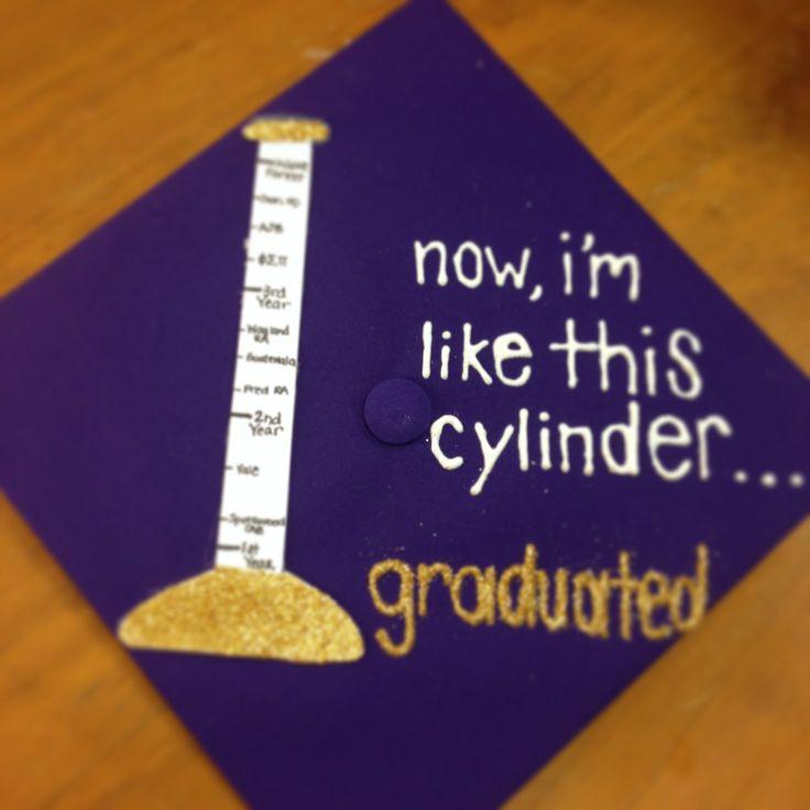 Science Graduation Cap. #JMU #graduationcap #graduate