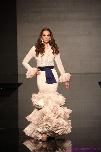 Traje de Flamenca - Margarita-Freire - SIMOF-2013