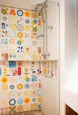 128 besten Herzhausen Bilder auf Pinterest Badezimmer, Halbes - fliesen bordre