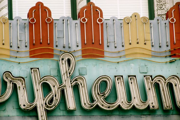vintage sign- LAVintage Signage, Neon Signs, Marquee Signs, Vintage Signs, The Marquee, Retro Signs, Old Signs, Theater Marquee, Green Day