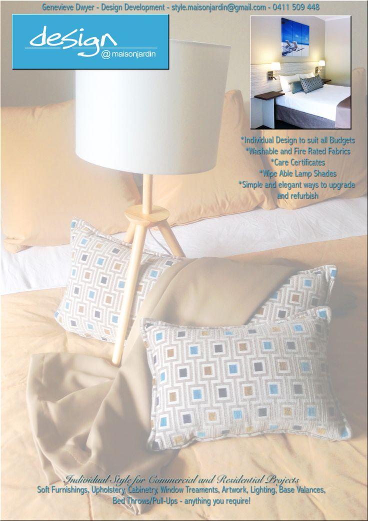 Genevieve Dwyer - Hotel Refurbishments 0411509448 http://www.maisonjardin.com.au