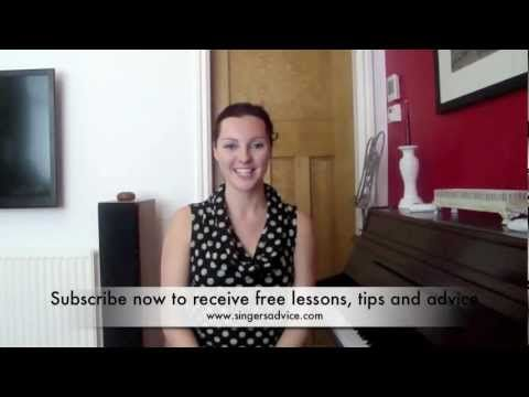 Sarah Brickel: .Head Voice vocal technique - Free singing lessons by Sarah Brickel Singers Advice .