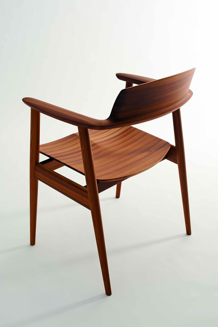 nordic furniture design. combining refined design with an innovative technique that compresses soft cedar wood into hardwood quality the kisaragi chair is a unique nordic furniture