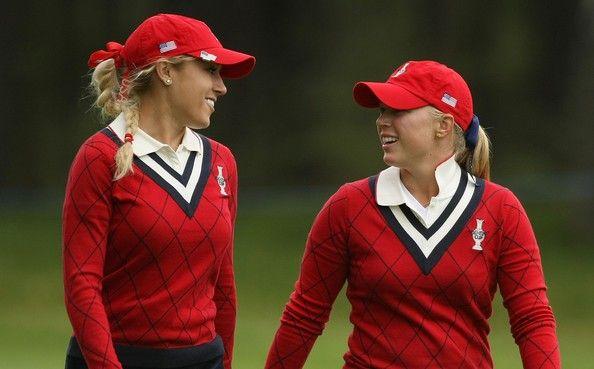 Natalie Gulbis and Morgan Pressel #SC13 #GoUSA
