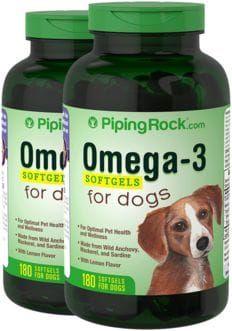 Omega-3 para perros 2 x 180 Perlas