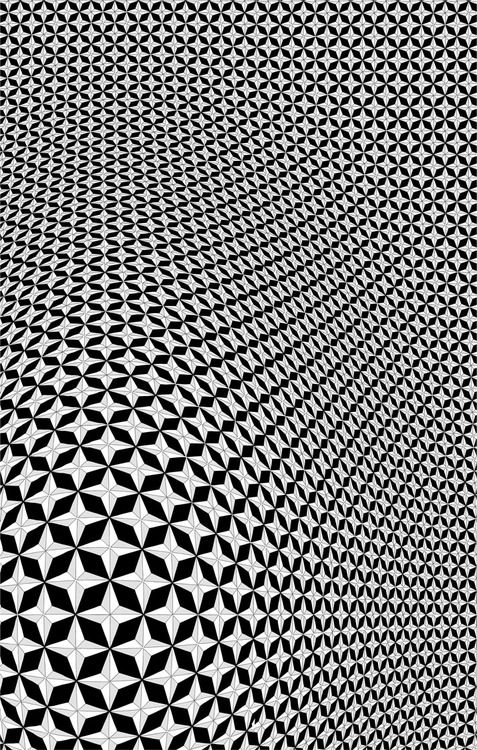 It is amazing what a pattern can do. One small element repeated creates something big.  From http://arquigag.tumblr.com/post/44953600068/architexture
