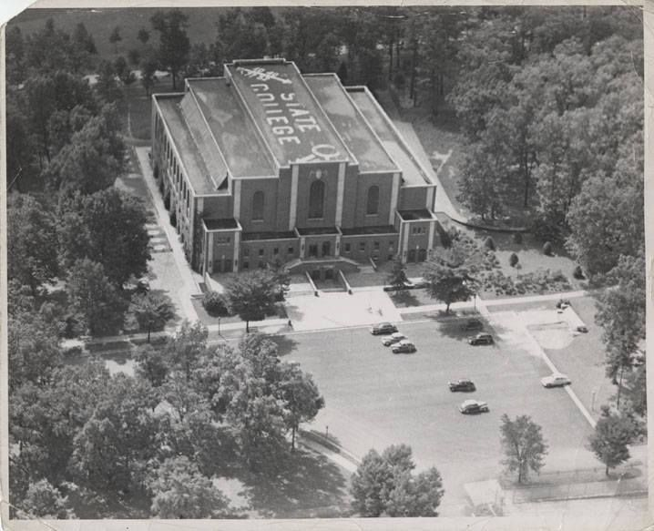 Opened in 1929, Recreation Building, as it is formally called, was first expanded in 1953 and a major addition came in 2006. Five Penn State teams have won national championships on the Rec Hall floor: boxing (1929 and 1932), wrestling (1953) and men's gymnastics (1960 and 2007). It was once the home to THON and commencement and has played host to numerous concerts and high-profile speakers, including U.S. presidents and presidential candidates and in 1965 Martin Luther King, Jr.