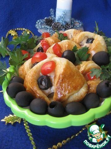 """Закусочные мини-пирожки """"Пиджачок"""" ингредиенты"""
