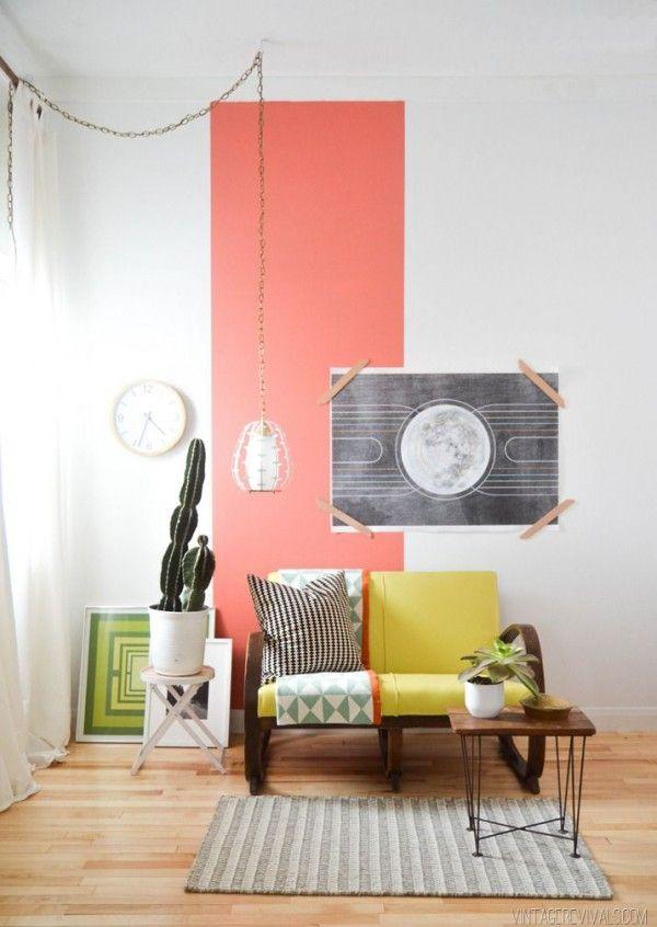 Kleurvlakken op de muur - THESTYLEBOX