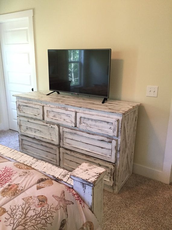reclaimed wood dresserrustic bedroom furniturestoragechest of drawersreclaimed repurposed furniture f