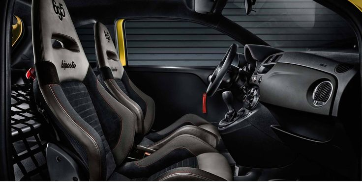 Abarth 695 Record Biposto Only 133 Units in World Interior