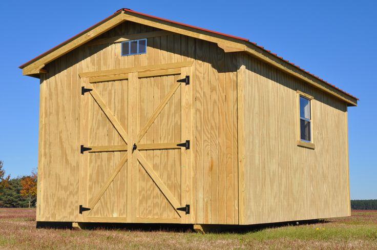 Storage Building Kits – For DIY | Shed Blueprints