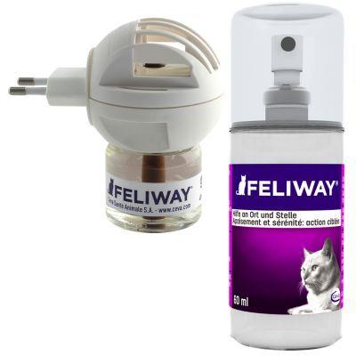 Feliway doftavgivare och spray
