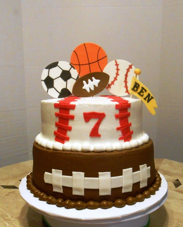 Easy sports cake recipes