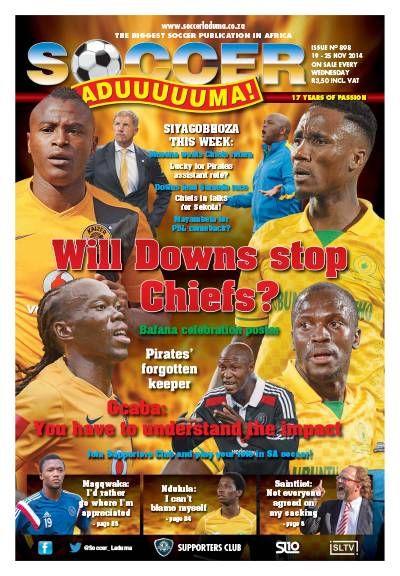 Soccer Laduma. Soccer. Football. South African. Sport.