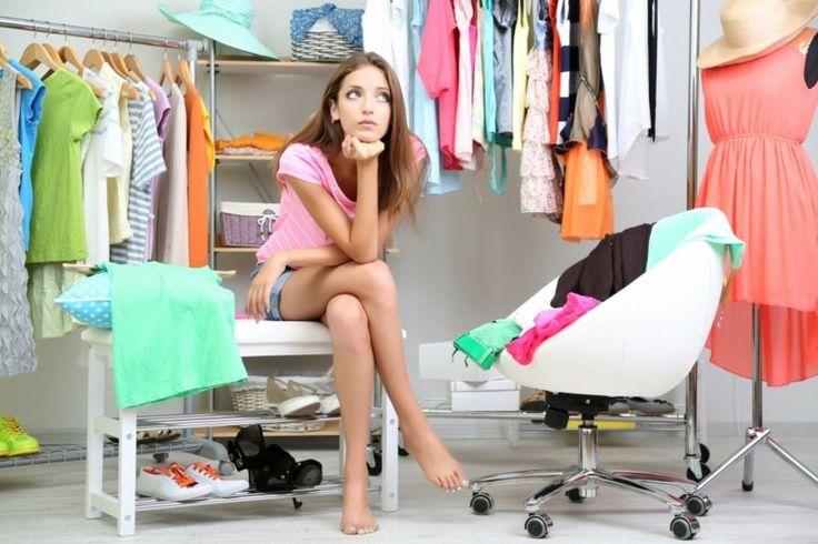 Ideal Kleiderschrank braucht neue Ordnungssystem Wohnideen f rs Schlafzimmer Pinterest