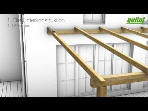 Design of a roof addition over an existing concret…