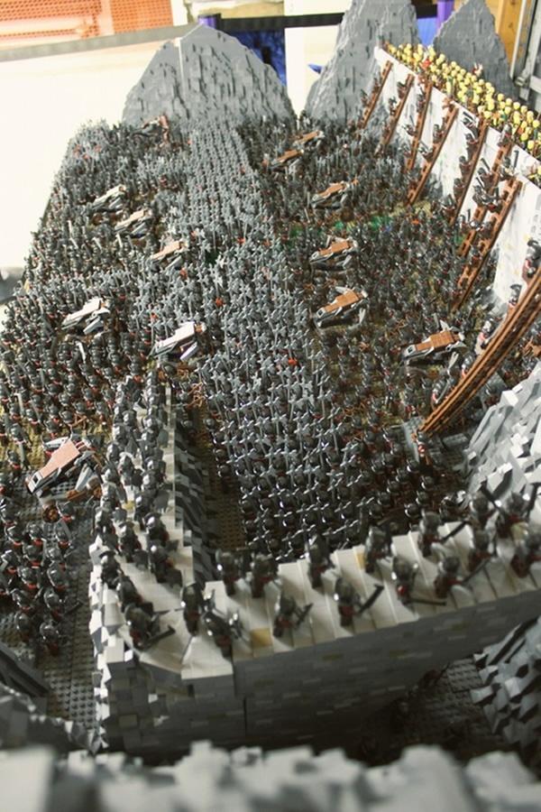 LEGO Battle of Helms Deep