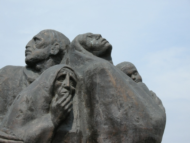 Holocaust memorial, Romania