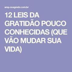 12 LEIS DA GRATIDÃO POUCO CONHECIDAS (QUE VÃO MUDAR SUA VIDA)