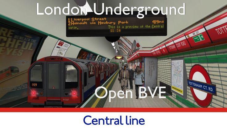 London Underground Simulator Central Line #tfl #tube #londonunderground #london #simulation #gaming