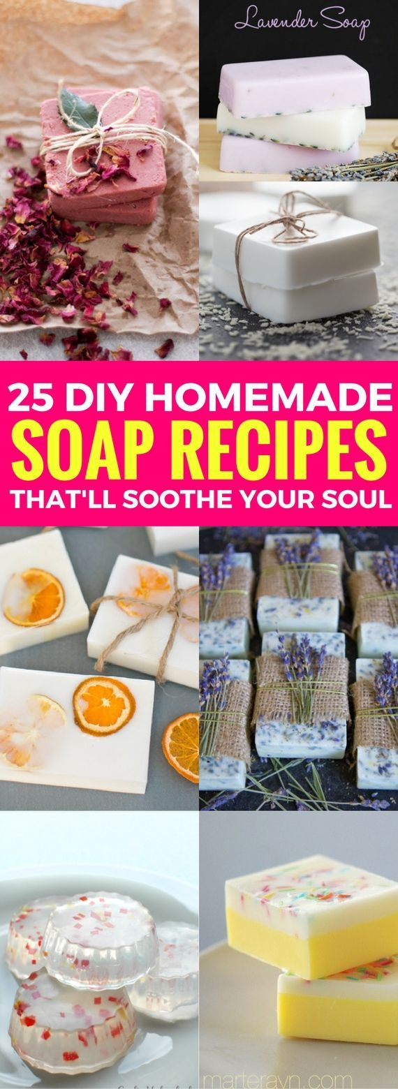 25 Homemade Soap Recipes That Are Easier Than You Think