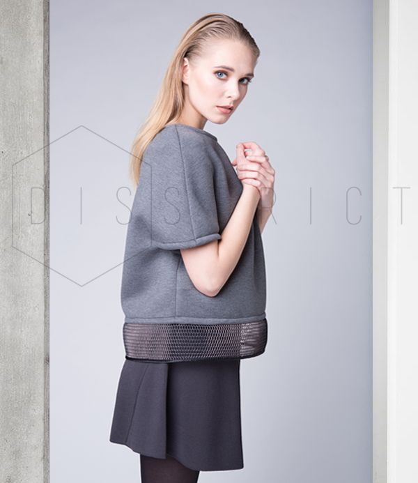 DEEP GREY TOP // Now available on on.fb.me/1lfPNyR