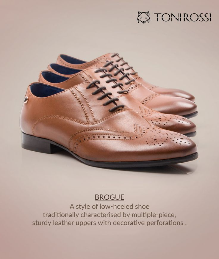 Formal shoes are never out of style from ToniRossi.