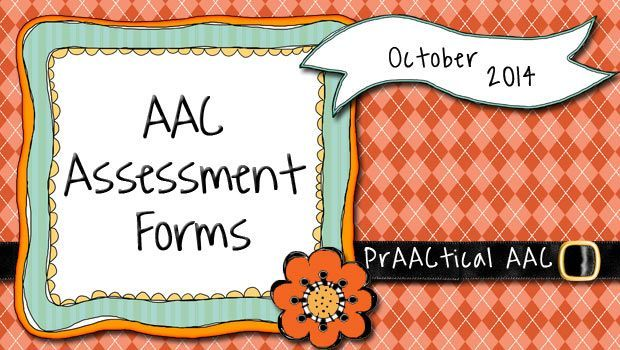 AAC Assessment Forms