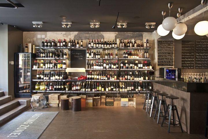 WINE STORES DropShop Wine Store By Suto Interior