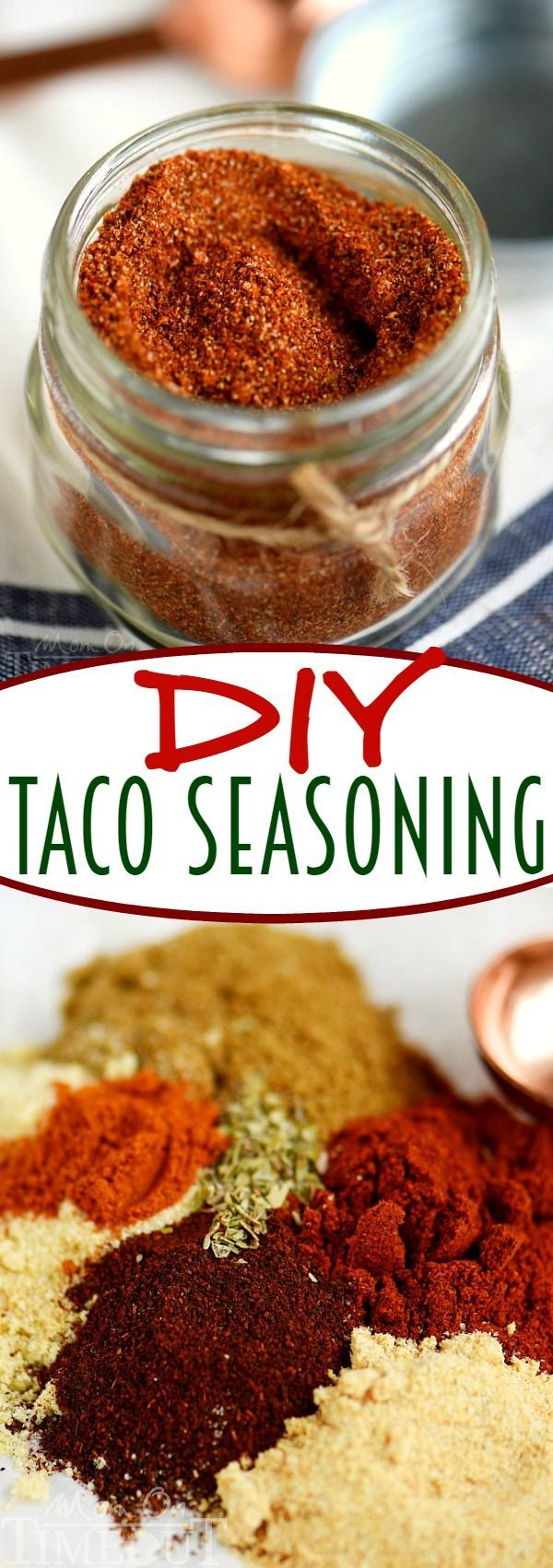 The recipe everyone needs in their dinner arsenal - DIY Taco Seasoning! Makes a great gift too! | eBay