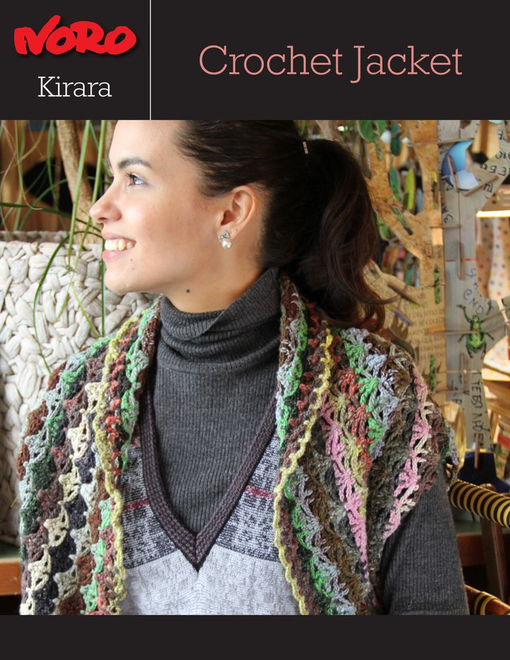 Knitting Fever Noro : Kirara jacket shrug crochet shrugs pinterest